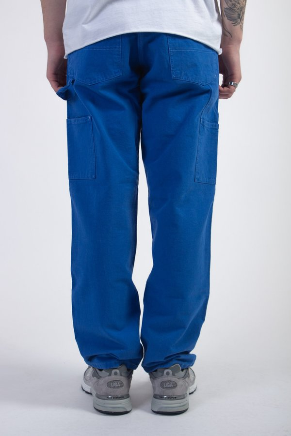 Stan Ray Garment Dyed Loose Fit Painter Pant - Blue
