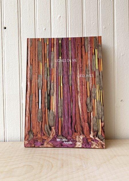 """Centre Pompidou """"Lignes de Vie/Lifelines"""" by Sheila Hicks Photo Book"""