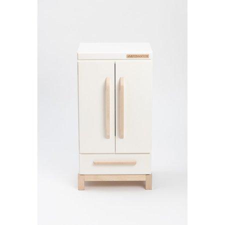 Kids Shop Merci Milo Essential Wooden Play Refridgerator - White