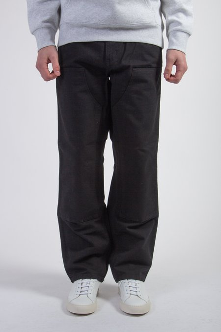 CARHARTT WIP Double Knee Pant - Black Rinsed