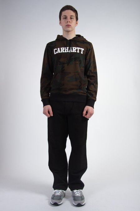 CARHARTT WIP Hooded Carhartt Sweat Camo - Evergreen/White