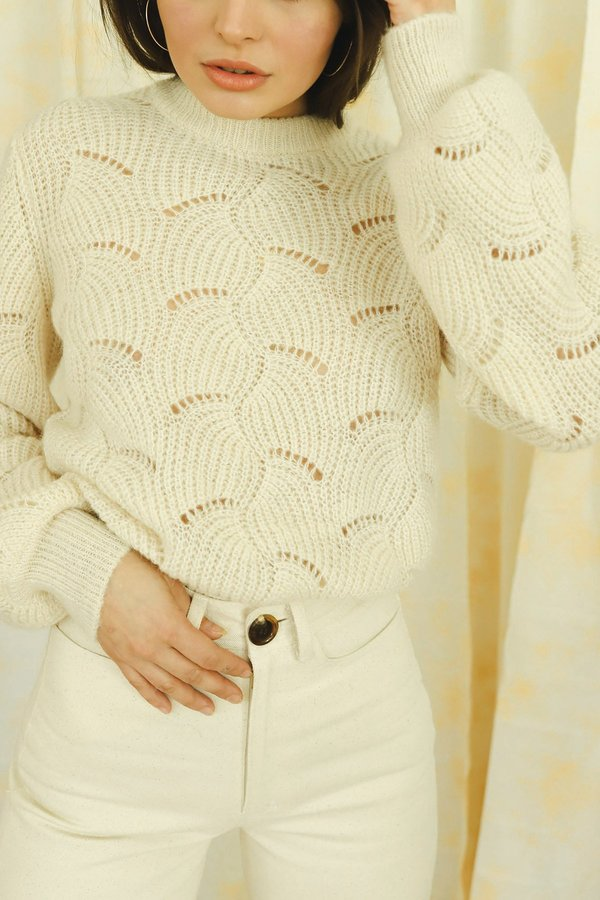 Rollas Vanilla Laura Sweater