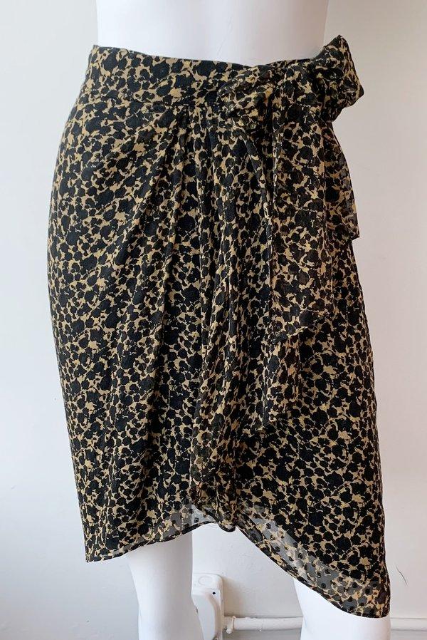 IRO Fallon Skirt - mustard