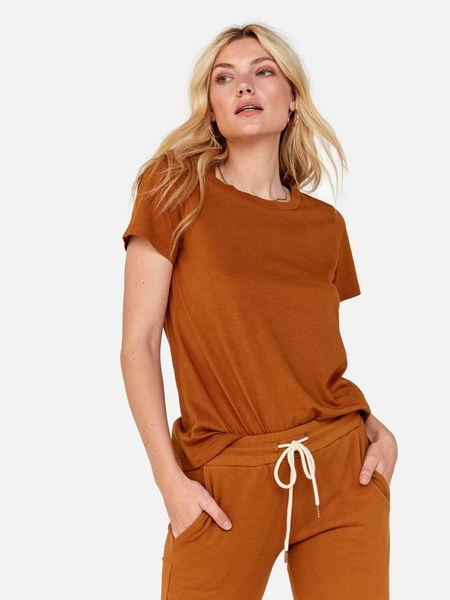 MATE The Label Classic Crew Top - Amber