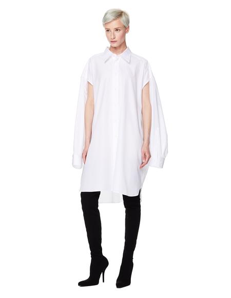 Maison Margiela Cotton Oversized Shirt - White