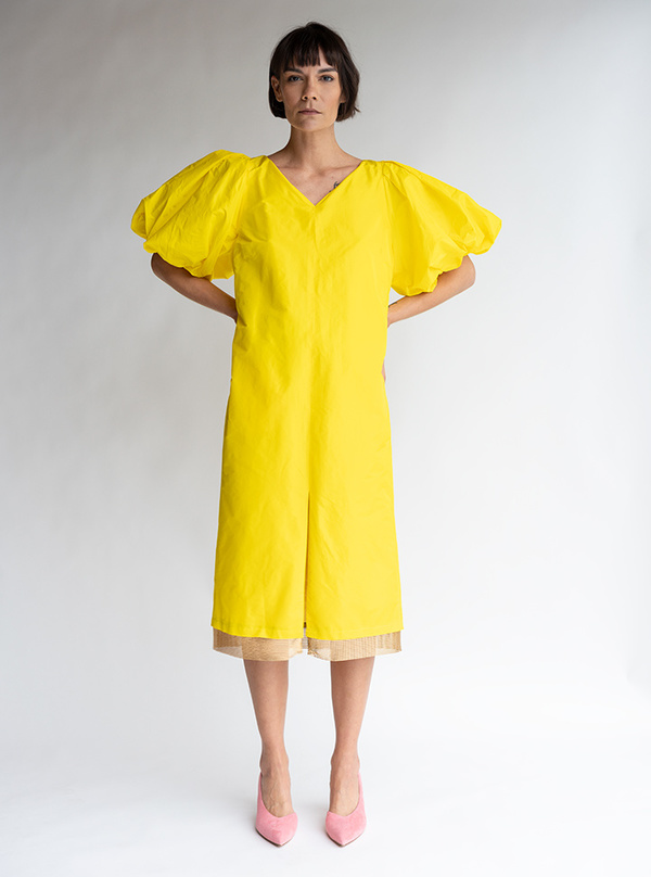 Rachel Comey Lurie Dress - Citron