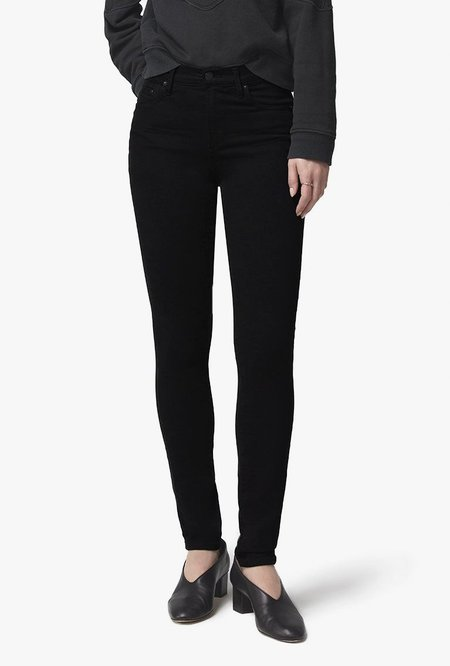 Citizens of Humanity Rocket Mid Rise Skinny Jean - Plush Black