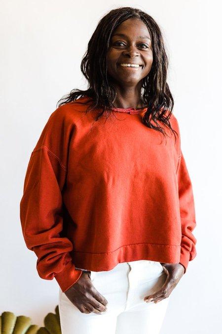 Rachel Comey Mingle Sweatshirt - Paprika