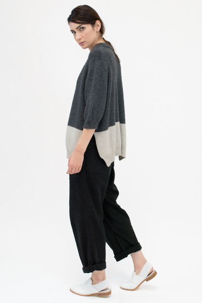 Micaela Greg Blocked pullover sweater