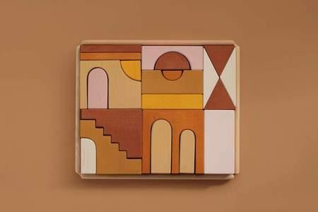 Raduga Grez Apartment Building Blocks - Colored