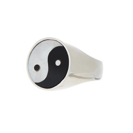 Tarin Thomas Yin Yang Everett Ring