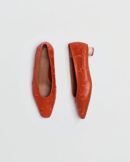 LOQ Paz Ballet Flat - Paprika Bordado
