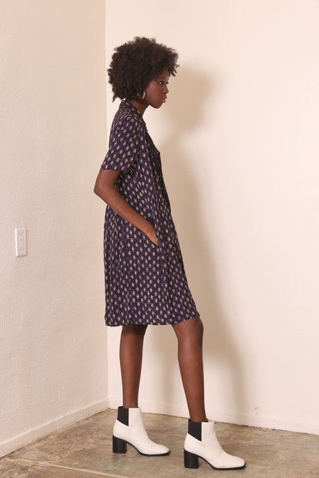 """""""INTENTIONALLY __________."""" ARCHIVE 0266 BUTTON UP SHIRT DRESS"""
