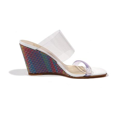 Maryam Nassir Zadeh Olympia Wedge Sandal - Rainbow