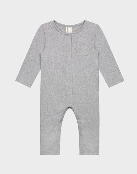 KIDS Gray Label Organic Baby Playsuit