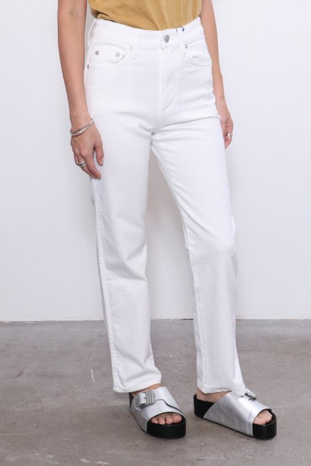 Simon Miller W013 Slim Crop - Whiteout