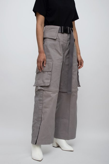 Kanak Escargo High Waisted Pants - Smoke