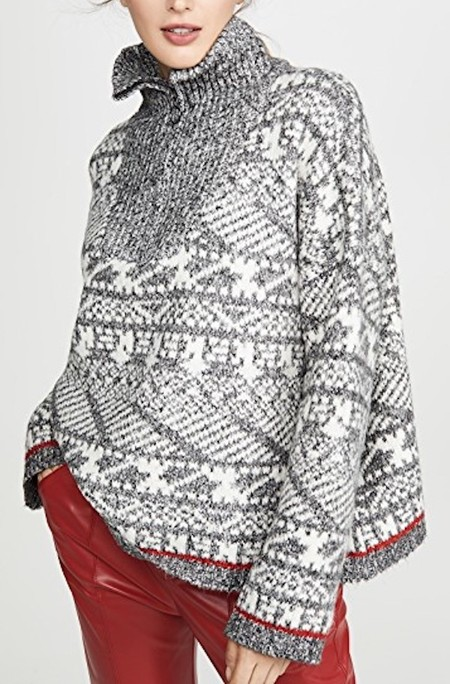 Line Helga Sweater - Alpine