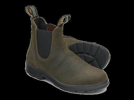 Blundstone 1615 Boots - Dark Olive Suede