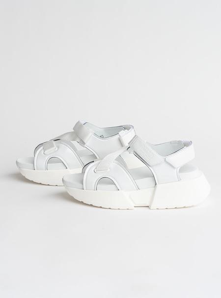 MM6 Maison Margiela Multi Strap Sandal - white