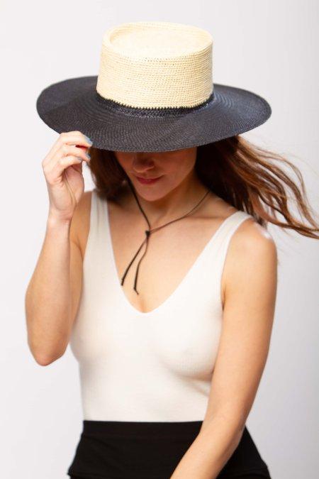 Greenpacha Solana hat - natural/black
