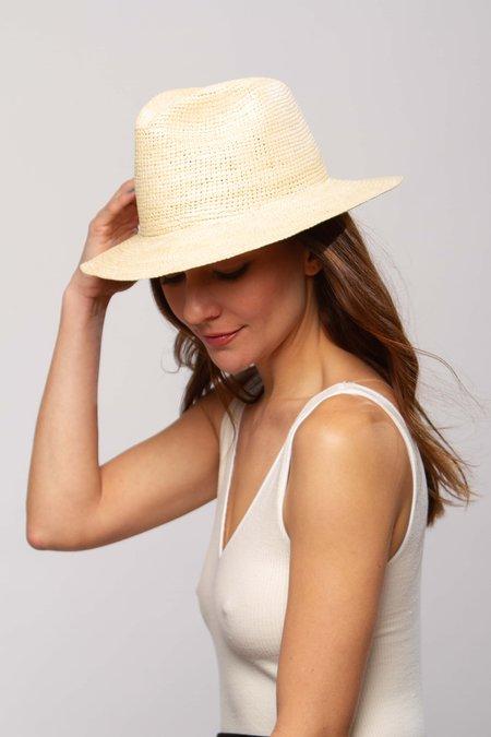 Greenpacha Windansea fedora hat - natural