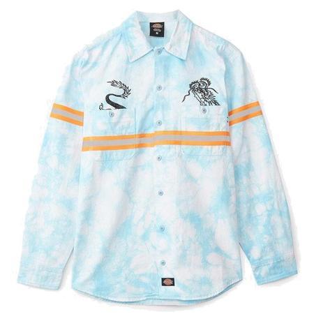 Clot X Dickies Dragon The Dye Long Sleeve Work Shirt