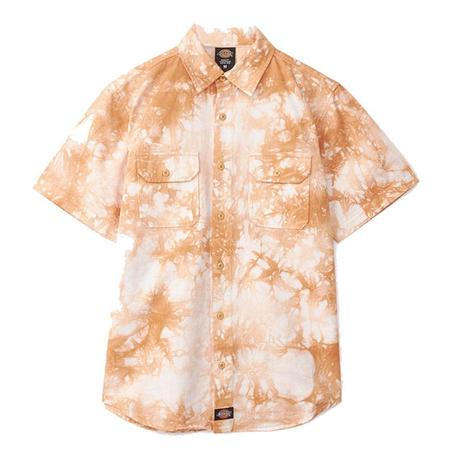 Clot X Dickies Dragon The Dye Short Sleeve Work Shirt
