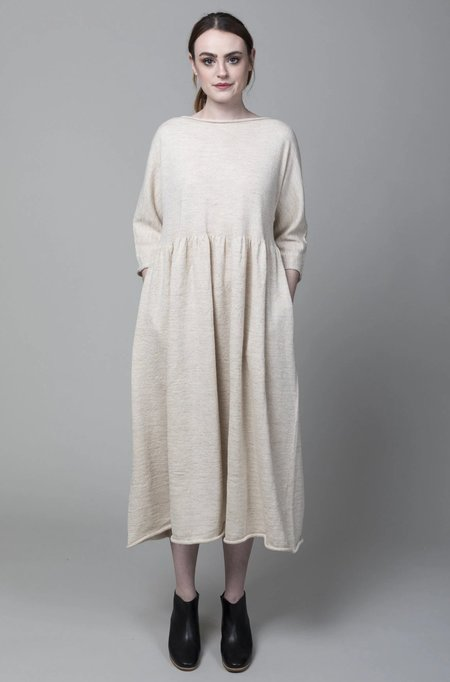 Lauren Manoogian Tier Dress - Ivory Flax