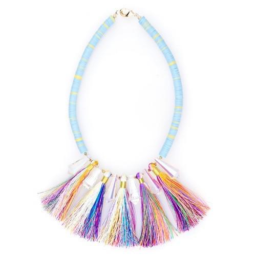 SJO Jewelry Pushkar Tassel Necklace