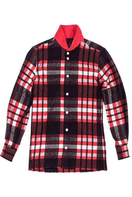 Fried Rice Flannel Shirt - Red Plaid