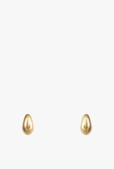 Wolf Circus Dune Baby Stud Earrings - Gold