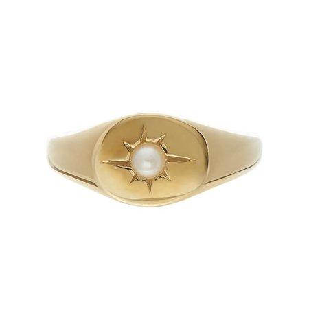 Tarin Thomas Nara Ring - Pearl