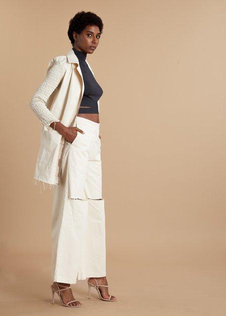 I.AM.ISIGO Painters Ruched Jacket