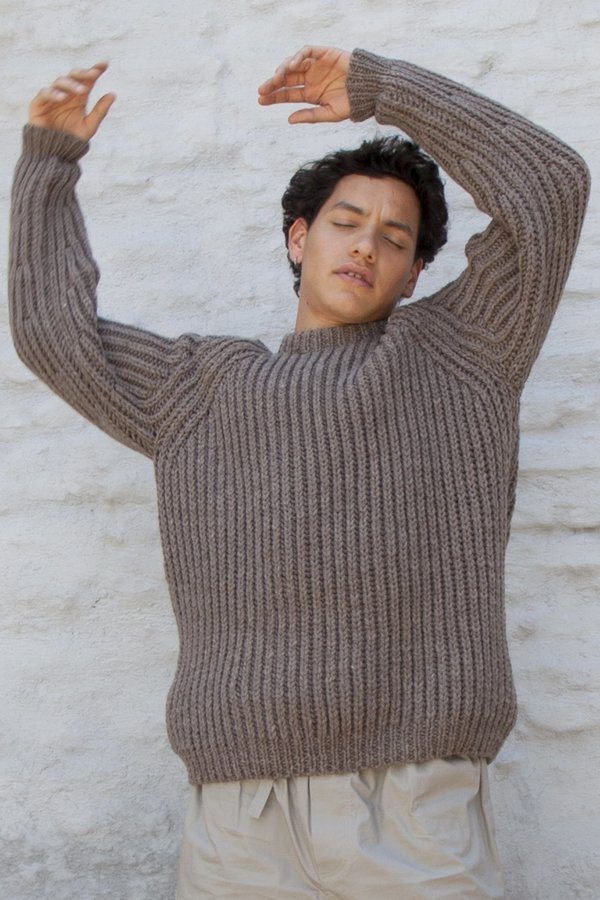 OUND HAND KNITTED WOOL JUMPER - CUB