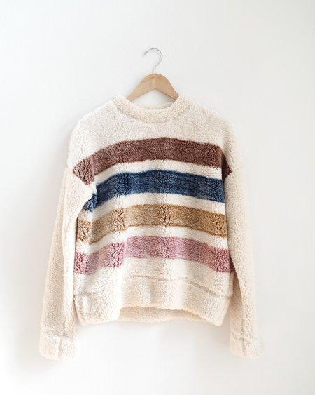 Thread & Supply Fairlyn Crewneck - Cream/ Multi