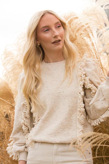 Ulla Johnson Sage Pullover - Natural