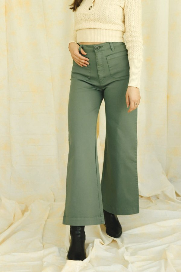 Rollas Sailor Pant - Olive