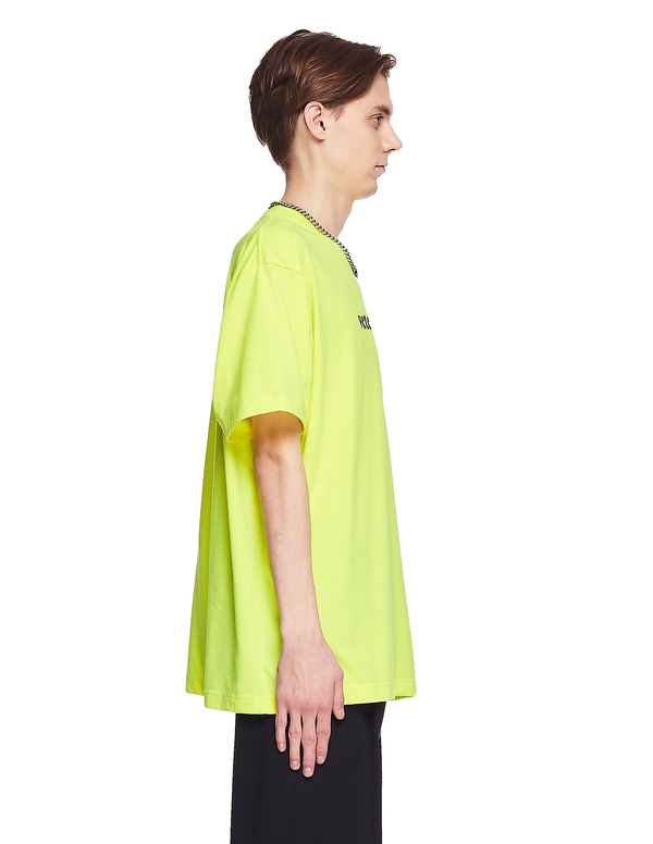 Vetements Cotton Logo T-Shirt - Yellow