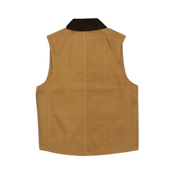 Deus Ex Machina Earl Canvas Vest - Driftwood Tan