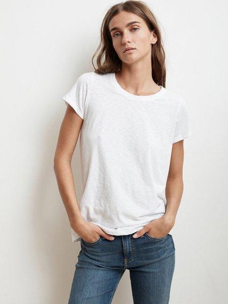 Velvet Tressa T-Shirt - White