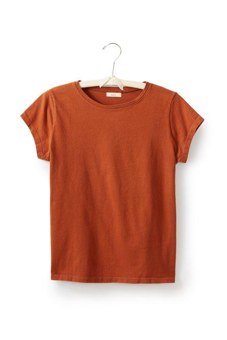 Lisa B. cotton short sleeve relaxed crew neck t-shirt