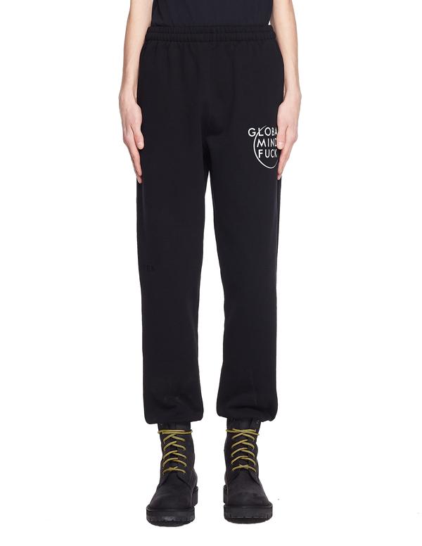 Vetements Cotton GMF Sweatpants - Black