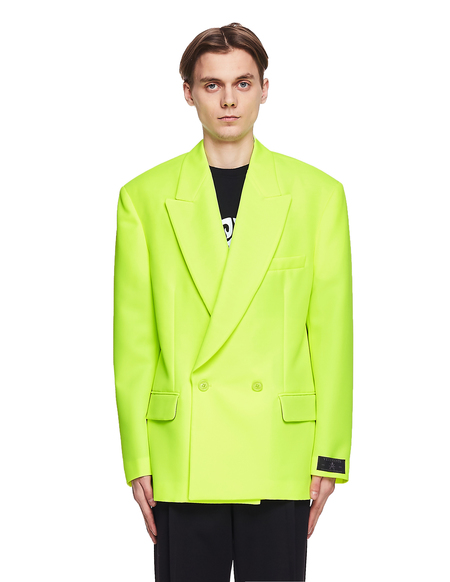 Vetements Oversized Jacket - Neon Yellow