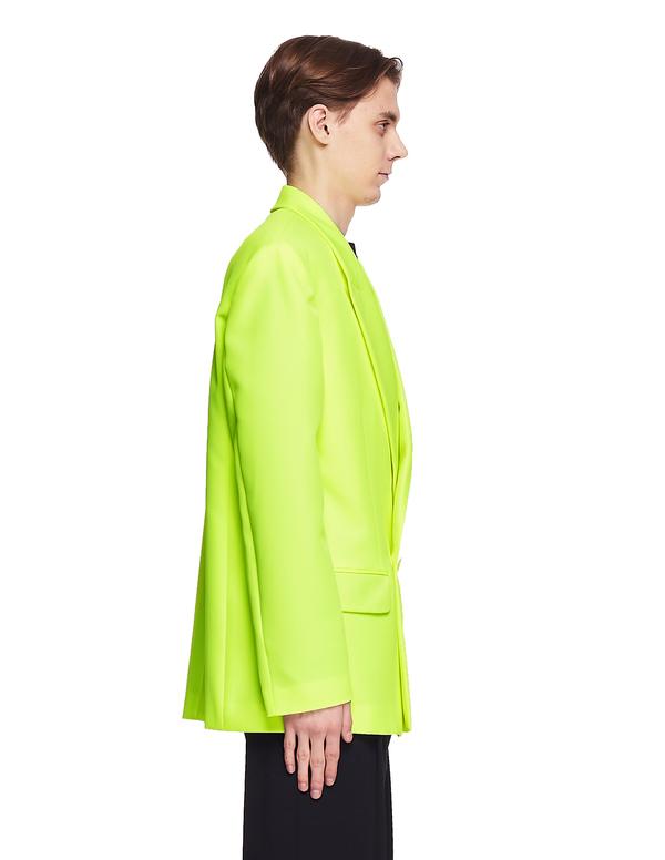 Vetements Oversized Jacket - Neon Yellow