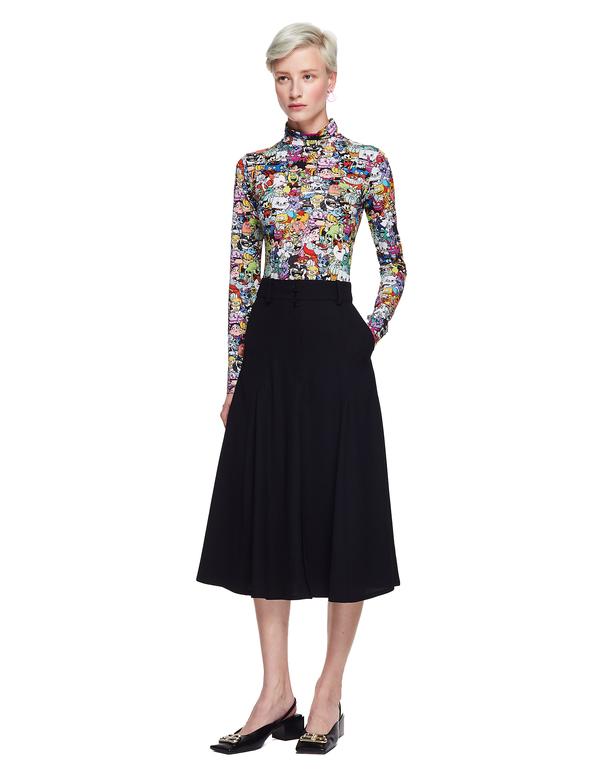 Vetements Midi Skirt - Black