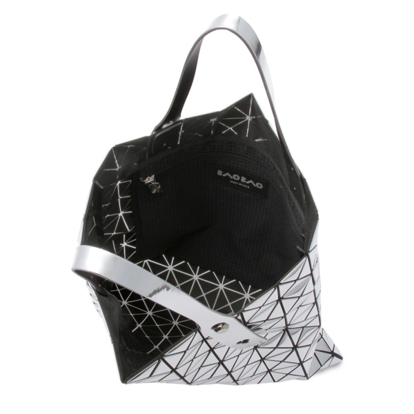 Bao Bao Issey Miyake Platinum Prism Tote Bag - Platinum Silver