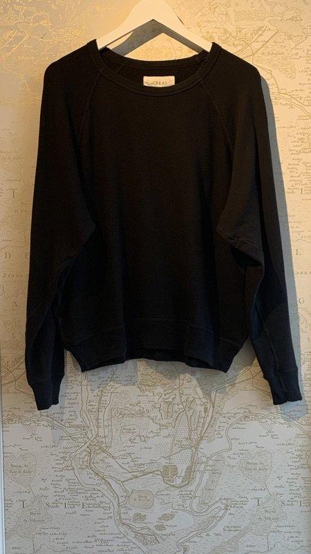 The Great. College Sweatshirt - Black
