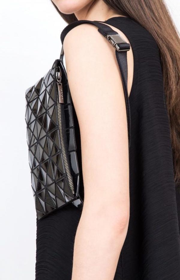 Bao Bao Issey Miyake Waist Bag And Cross Body - Black