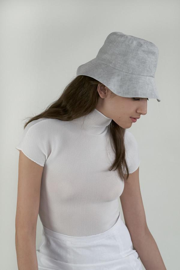 f811dce47b1 Clyde Bucket Hat in Cloud Melange